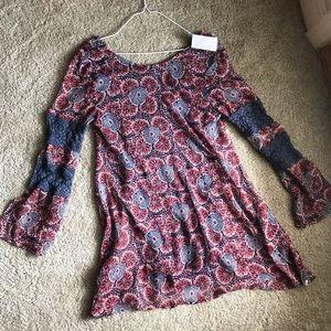 Volcom Dresses - Floral Hipster Dress